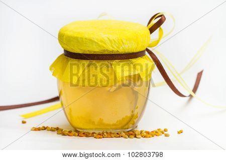 Herbal Honey Isolated