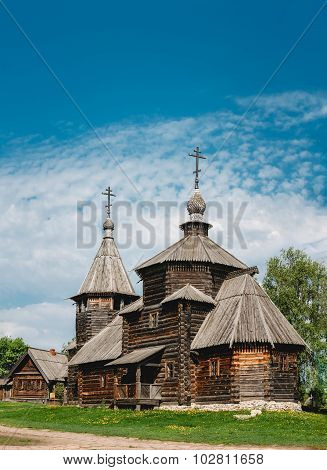 Church Of The Resurrection From Village Of Patakino, Transported