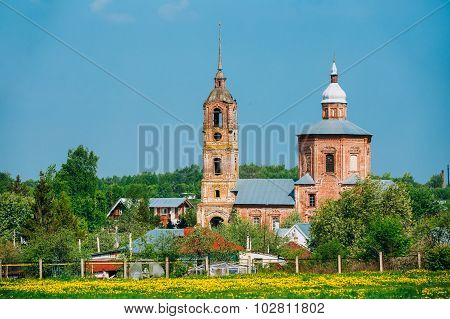 Church of Saints Boris and Gleb in Suzdal, Russia.
