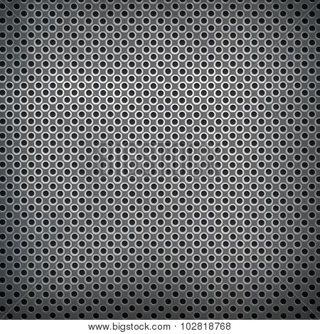 silver metal mesh background