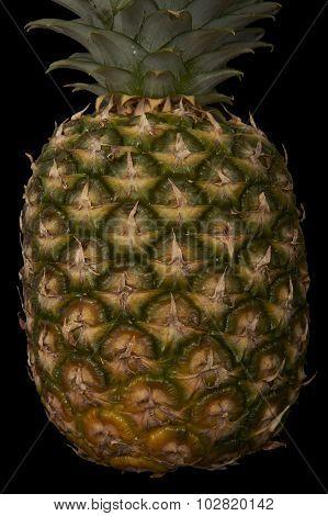 Ripe pineapple texture