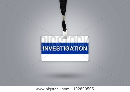 Investigation On Badge