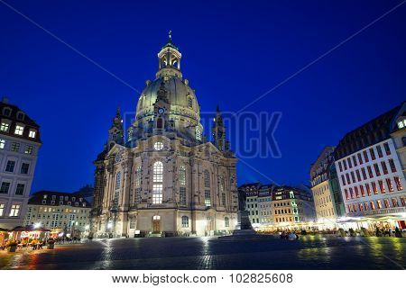 Frauenkirche or Church of Our Lady cathedral