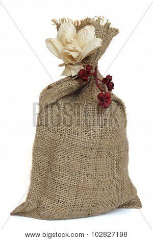 Small sack.