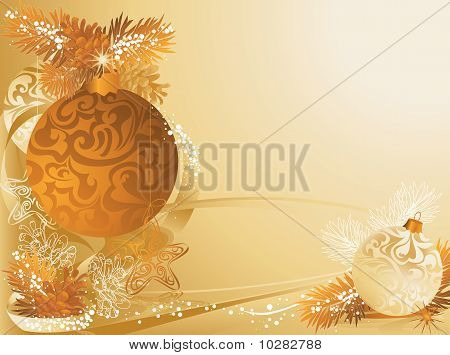 Christmas Pine Cones Card