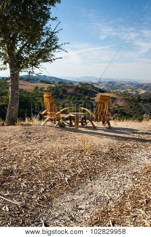 Seating For Two In California Wine Country