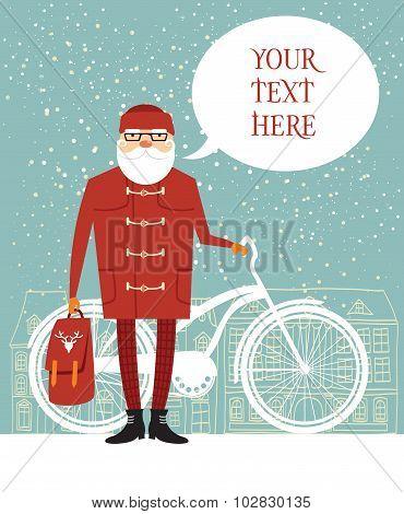 Santa Hipster