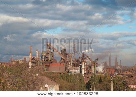 old Soviet factory