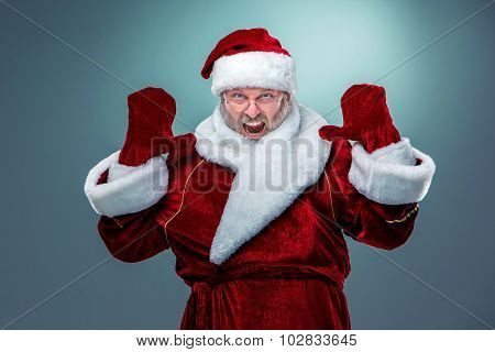 flashy Santa Claus.