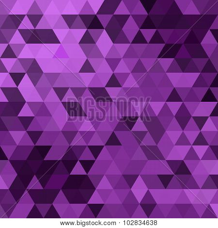 triangles violet
