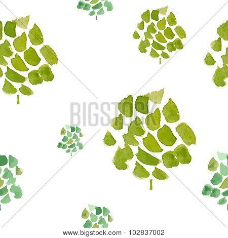 Eco watercolour pattern