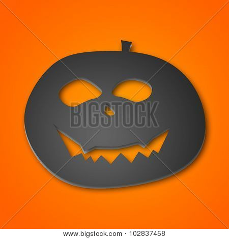 Halloween Illustration Of A Pumpkin