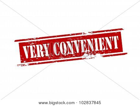 Very Convenient