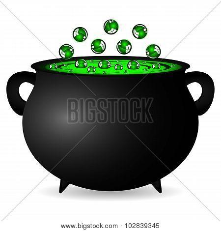 Cauldron Witches Potion For Halloween