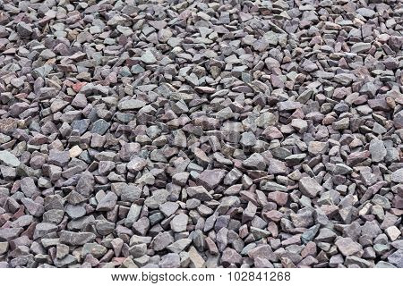 Gravel Stones Background Or Texture