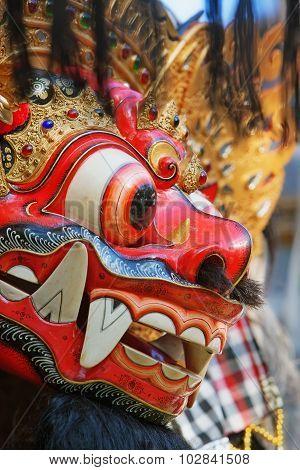 Protective spirit and Bali island symbol - Barong