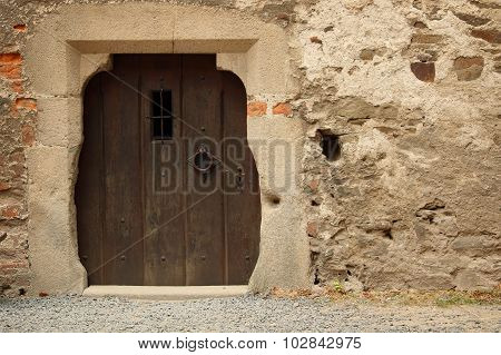 Photo Of Old Door And Part Of The Wall