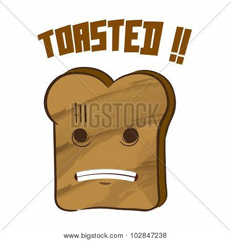 Toasted Bread Character