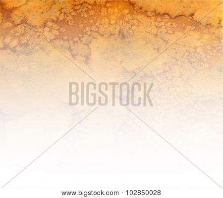 Brown-white Watercolor Gradient Background