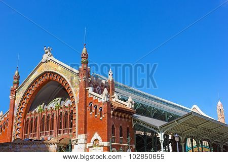 Columbus Market (Mercado de Colon) Valencia Spain.