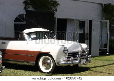 1950 Hudson On Display At Auction