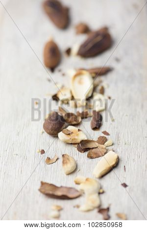 toasted almonds