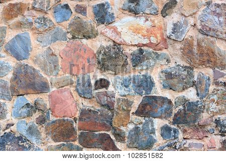 Texture Rock Wall Background.