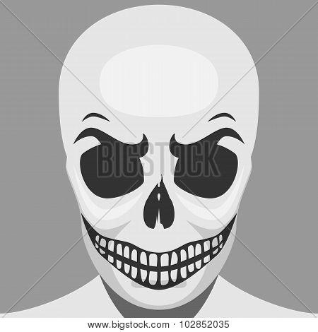 Scary Skeleton Monster for Halloween