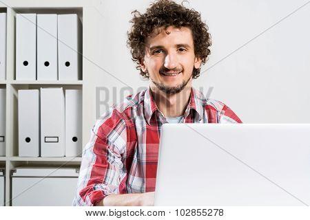 Man working in office