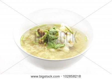 Rice Porridge With Fish