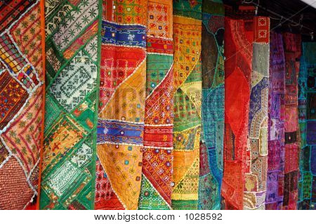 A Collection Of Oriental Fabrics