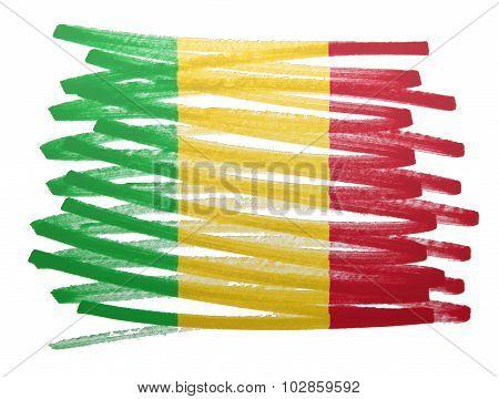 Flag Illustration - Mali