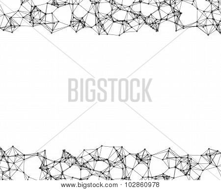 Abstract Elements On White