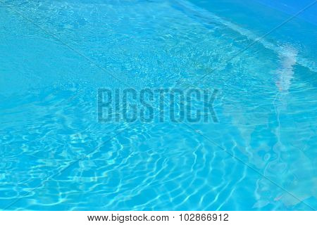 azure water in the pool