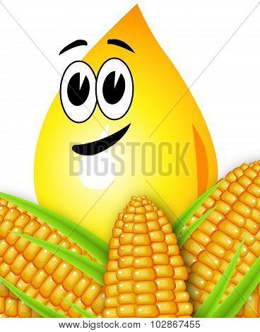 Drop Corn Oil