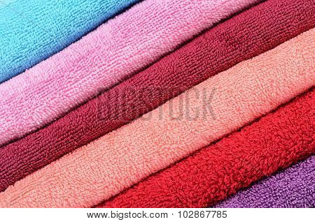 The Bath Towel As A Background