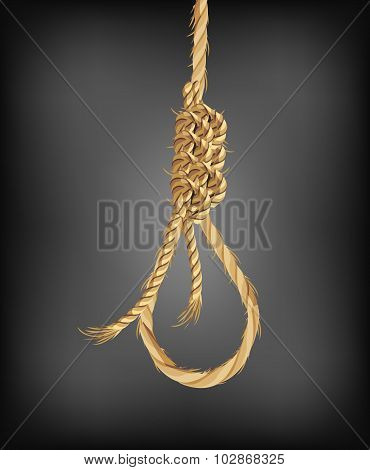 Old Rope Noose Hangman