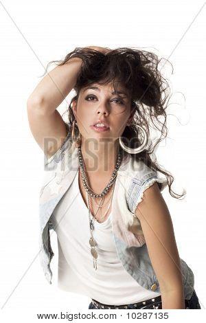 Sexy girl posing