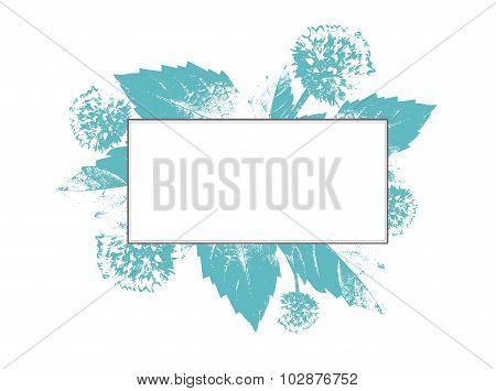 Natural Floral Frame
