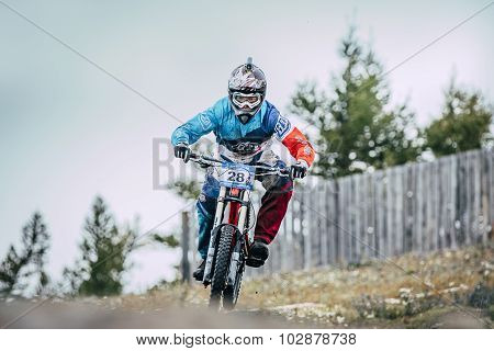 downhill racer bike