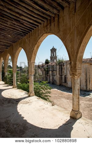 Abandoned Orthodox Monastery Of Saint Panteleimon In Cyprus
