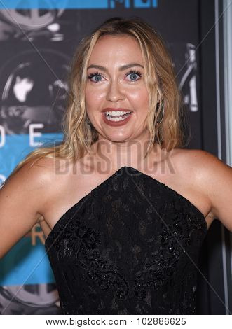 LOS ANGELES - AUG 30:  Brandi Cyrus 2015 MTV Video Music Awards - Arrivals  on August 30, 2015 in Hollywood, CA