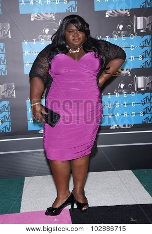 LOS ANGELES - AUG 30:  Gabourey Sidibe 2015 MTV Video Music Awards - Arrivals  on August 30, 2015 in Hollywood, CA