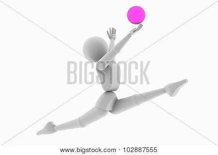 Gymnastics, Jump Ball