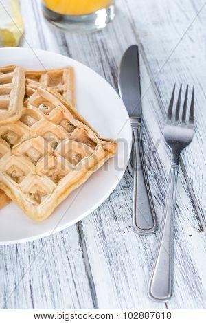 Fresh Made Waffles