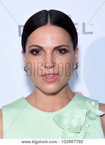 LOS ANGELES - SEP 18:  Lana Parrilla Television Industry Advocacy Awards  on September 18, 2015 in Hollywood, CA