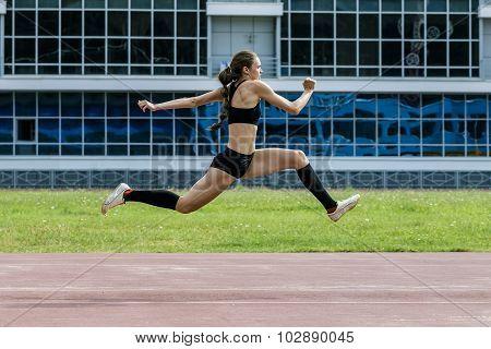 girl triple jump