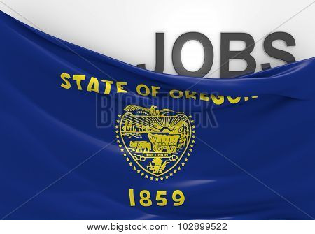 Oregon jobs and employment opportunities concept