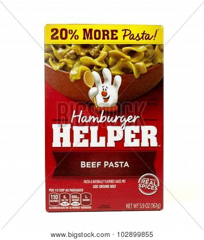 Hamburger Helper Package
