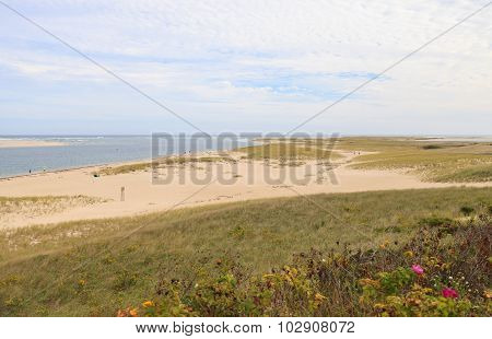 Beach in Chatham, Massachusetts on Cape Cod.